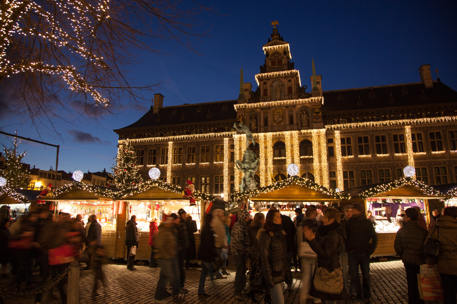 Kerstmarkt van Antwerpen