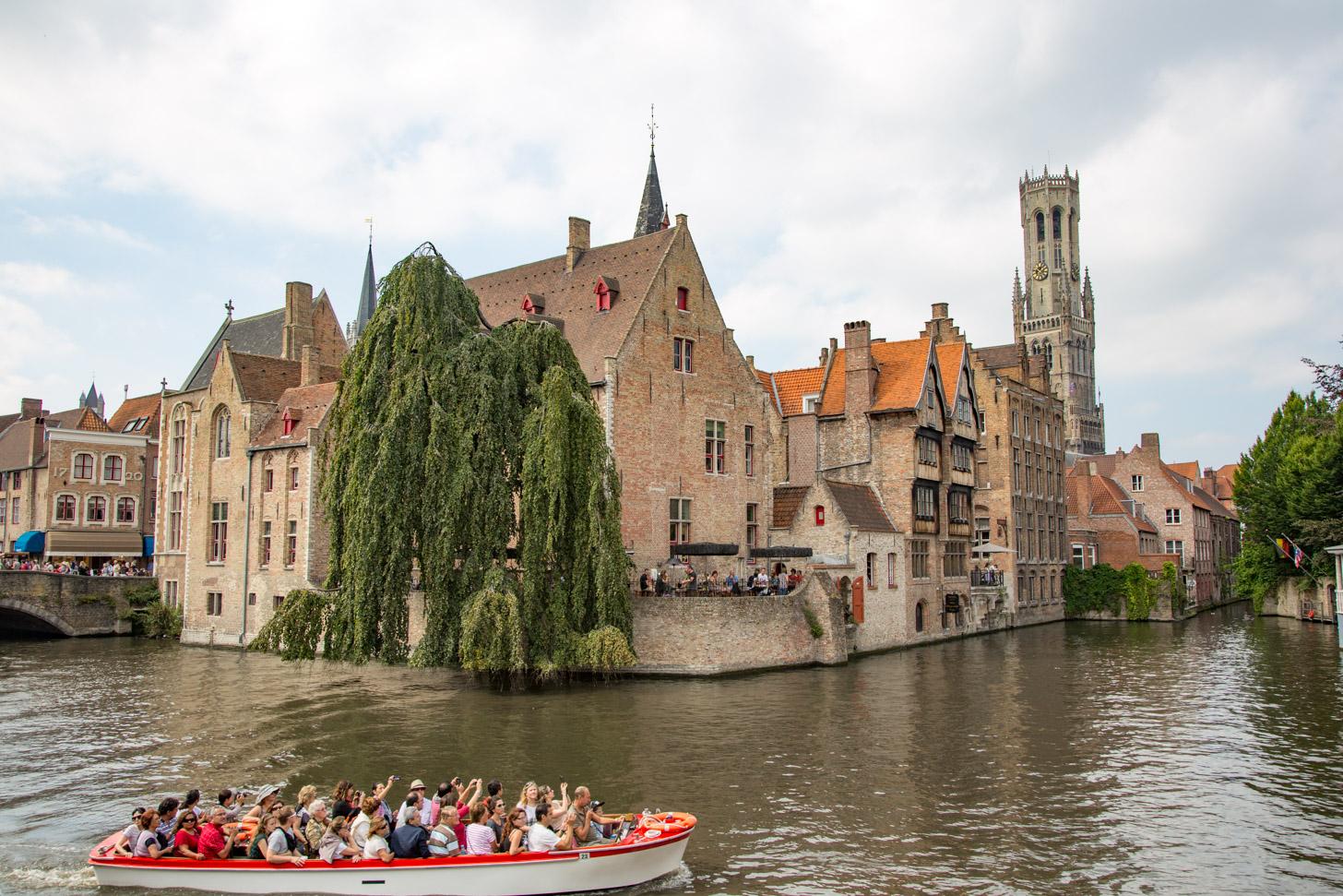 Rondvaart in Brugge